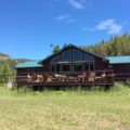 HOME ON 24+- ACRES WITH OUTSTANDING VIEW OF STEAMBOAT MOUNTAIN