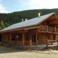 FALLS CREEK LAND AND LOG HOME BORDERING NATIONAL FOREST -UPPER DEARBORN RIVER AREA